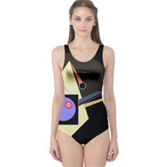 Construction One Piece Swimsuit