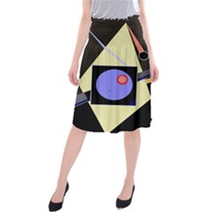 Construction Midi Beach Skirt