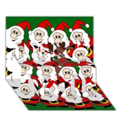 Did You See Rudolph? Miss You 3d Greeting Card (7x5)