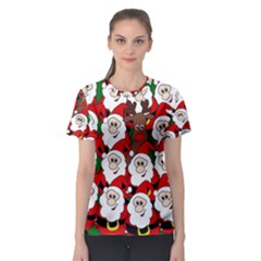 Did you see Rudolph? Women s Sport Mesh Tee