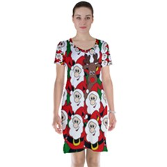 Did you see Rudolph? Short Sleeve Nightdress