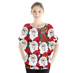 Did you see Rudolph? Blouse