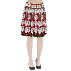 Did You See Rudolph? Pleated Skirt