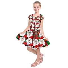 Did you see Rudolph? Kids  Short Sleeve Dress