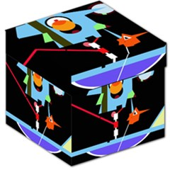 Abstract composition  Storage Stool 12