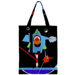 Abstract composition  Zipper Classic Tote Bag