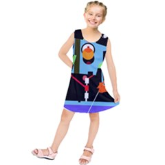 Abstract composition  Kids  Tunic Dress
