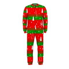 Xmas pattern OnePiece Jumpsuit (Kids)