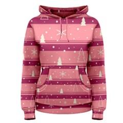 Pink Xmas Women s Pullover Hoodie