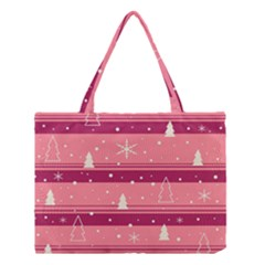Pink Xmas Medium Tote Bag