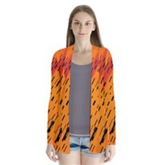 Clothing (21)6k,kg Drape Collar Cardigan