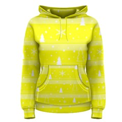 Yellow Xmas Women s Pullover Hoodie