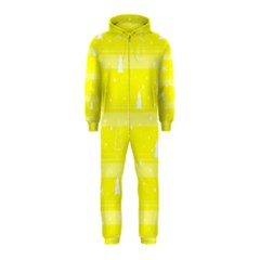 Yellow Xmas Hooded Jumpsuit (Kids)