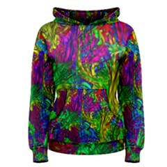 Hot Liquid Abstract A Women s Pullover Hoodie