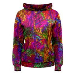 Hot Liquid Abstract B  Women s Pullover Hoodie
