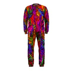 Hot Liquid Abstract B  Onepiece Jumpsuit (kids)