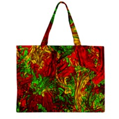 Hot Liquid Abstract C Medium Tote Bag