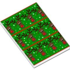 Reindeer pattern Large Memo Pads