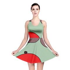 Nature Reversible Skater Dress