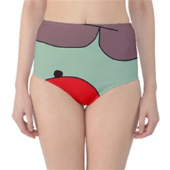 Nature High-Waist Bikini Bottoms