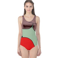 Nature One Piece Swimsuit