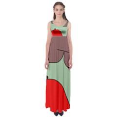 Nature Empire Waist Maxi Dress