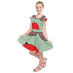Nature Kids  Short Sleeve Dress