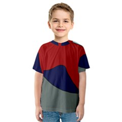 Decorative design Kids  Sport Mesh Tee