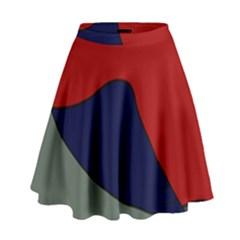 Decorative design High Waist Skirt