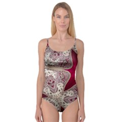 Morocco Motif Pattern Travel Camisole Leotard