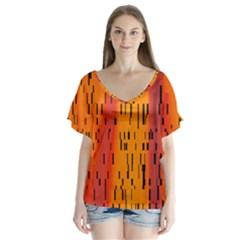 Clothing (20)6k,kgb Flutter Sleeve Top