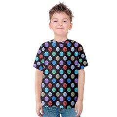 Death Star Polka Dots in Multicolour Kids  Cotton Tee