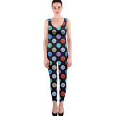 Death Star Polka Dots In Multicolour Onepiece Catsuit