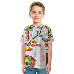 Happy day Kids  Sport Mesh Tee