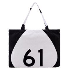 Hawaii Route 61  Medium Zipper Tote Bag