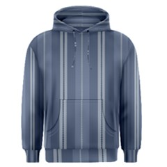 Vibrating Blue Stripes Men s Pullover Hoodie