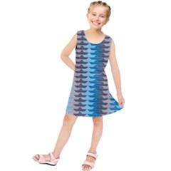 Pattern Boats Background Ship Kids  Tunic Dress