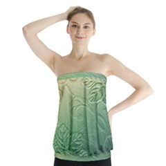 Plants Nature Botanical Botany Strapless Top
