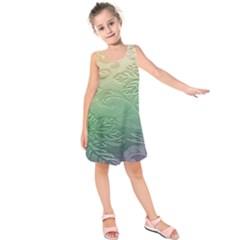 Plants Nature Botanical Botany Kids  Sleeveless Dress