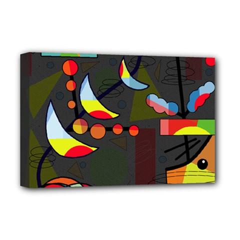 Happy day 2 Deluxe Canvas 18  x 12