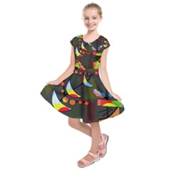 Happy day 2 Kids  Short Sleeve Dress