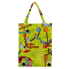 Happy day - yellow Classic Tote Bag