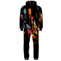Magical night  Hooded Jumpsuit (Men)