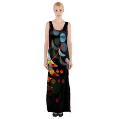 Magical night  Maxi Thigh Split Dress