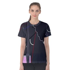 Plug in Women s Cotton Tee