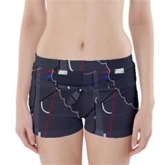 Plug in Boyleg Bikini Wrap Bottoms