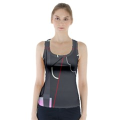 Plug in Racer Back Sports Top