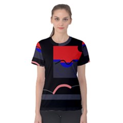 Geometrical abstraction Women s Cotton Tee