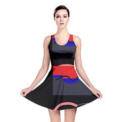 Geometrical abstraction Reversible Skater Dress