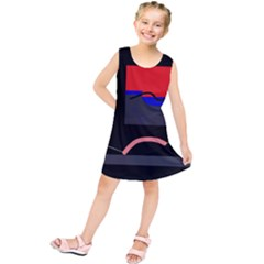 Geometrical abstraction Kids  Tunic Dress